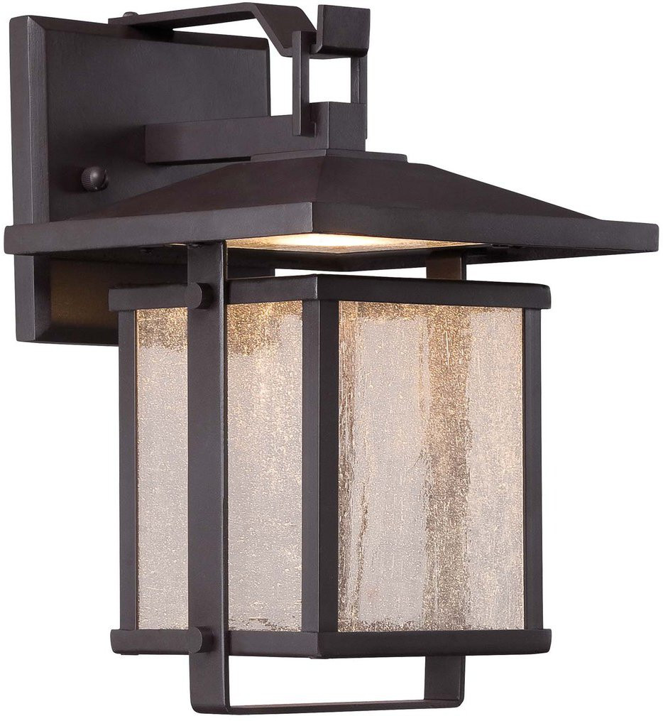 The Great Outdoors - 8162-615B-L - Hillsdale 14 Inch Dorian Bronze Outdoor Wall Sconce
