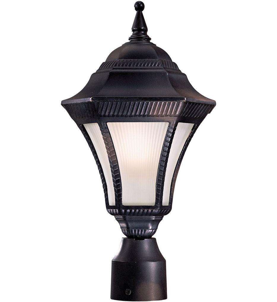 The Great Outdoors - Segovia 1 Light Outdoor Post Light