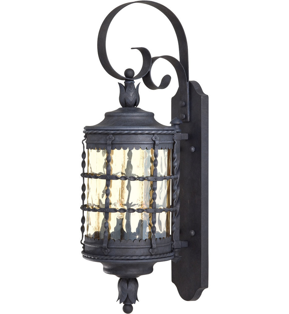 The Great Outdoors - Mallorca 28.25 Inch Outdoor Wall Sconce