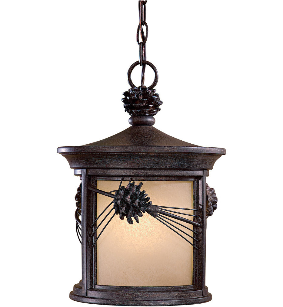 The Great Outdoors - Abbey Lane Iron Oxide Outdoor Pendant