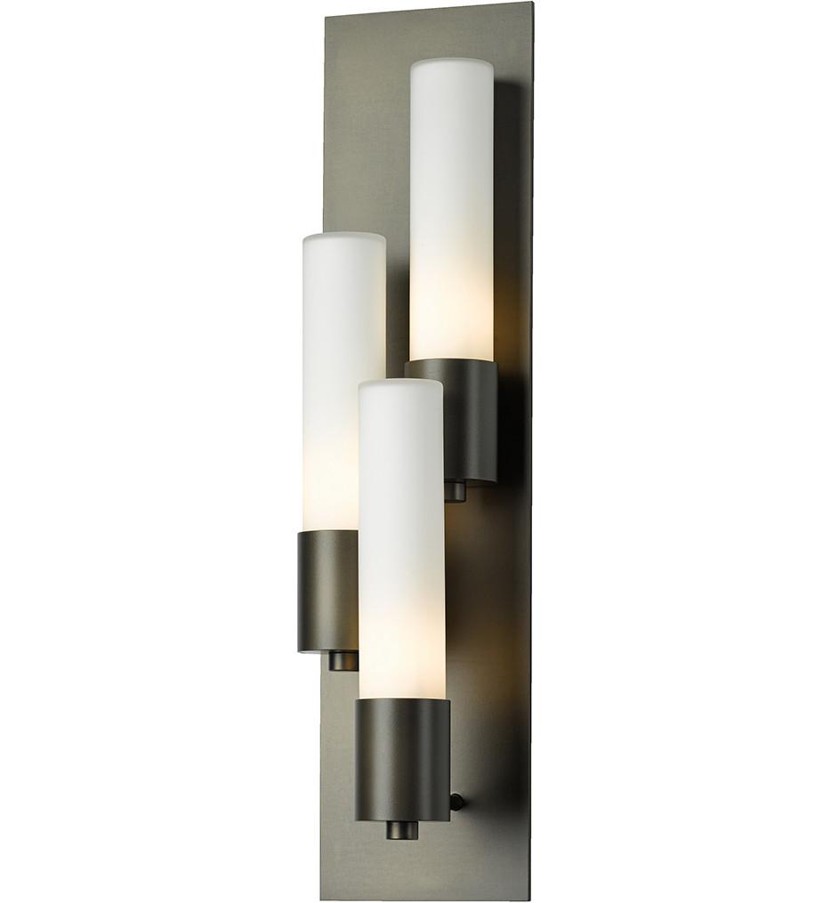 Hubbardton Forge - Pillar 3 Light Left Wall Sconce