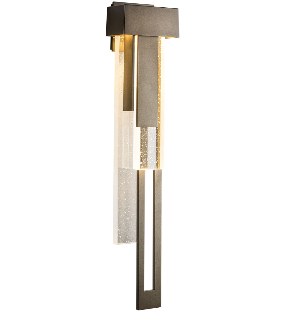 Hubbardton Forge - Rainfall Large Outdoor Wall Sconce