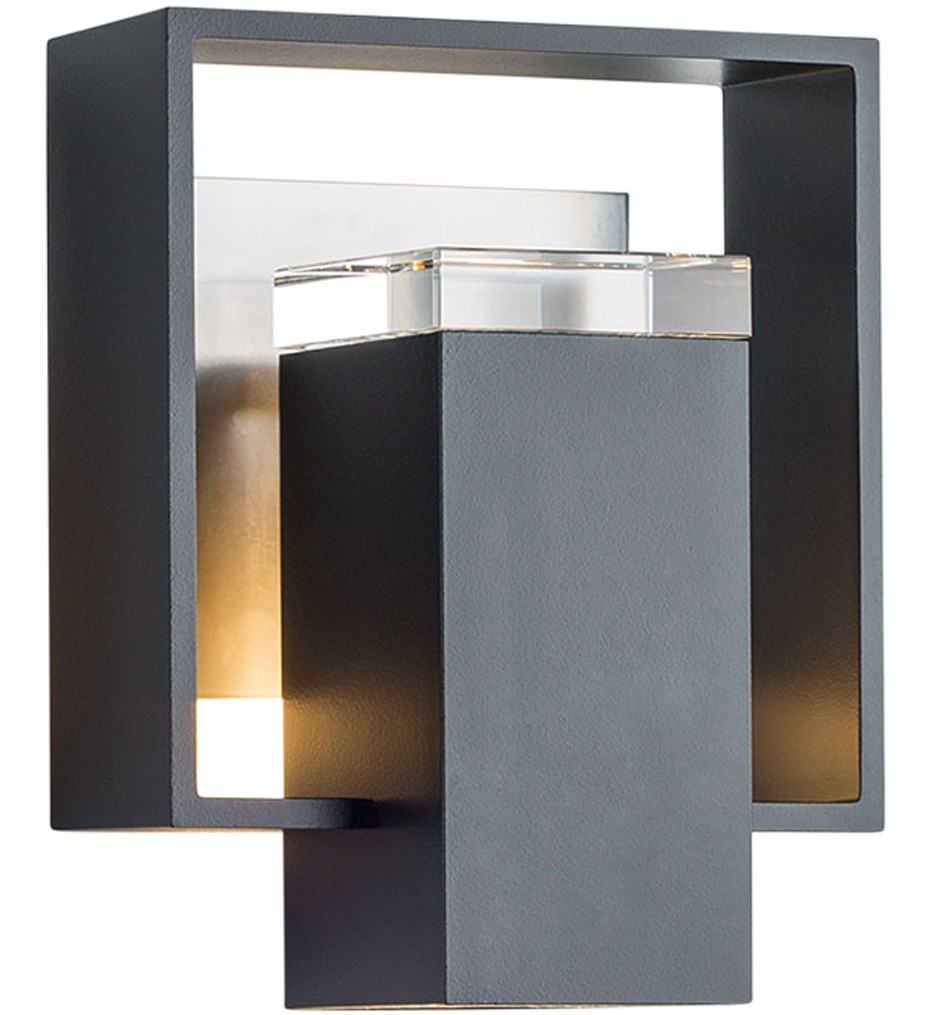 Hubbardton Forge - Shadow Box Small Outdoor Wall Sconce