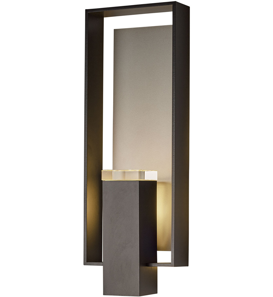 Hubbardton Forge - Shadow Box Large Outdoor Wall Sconce