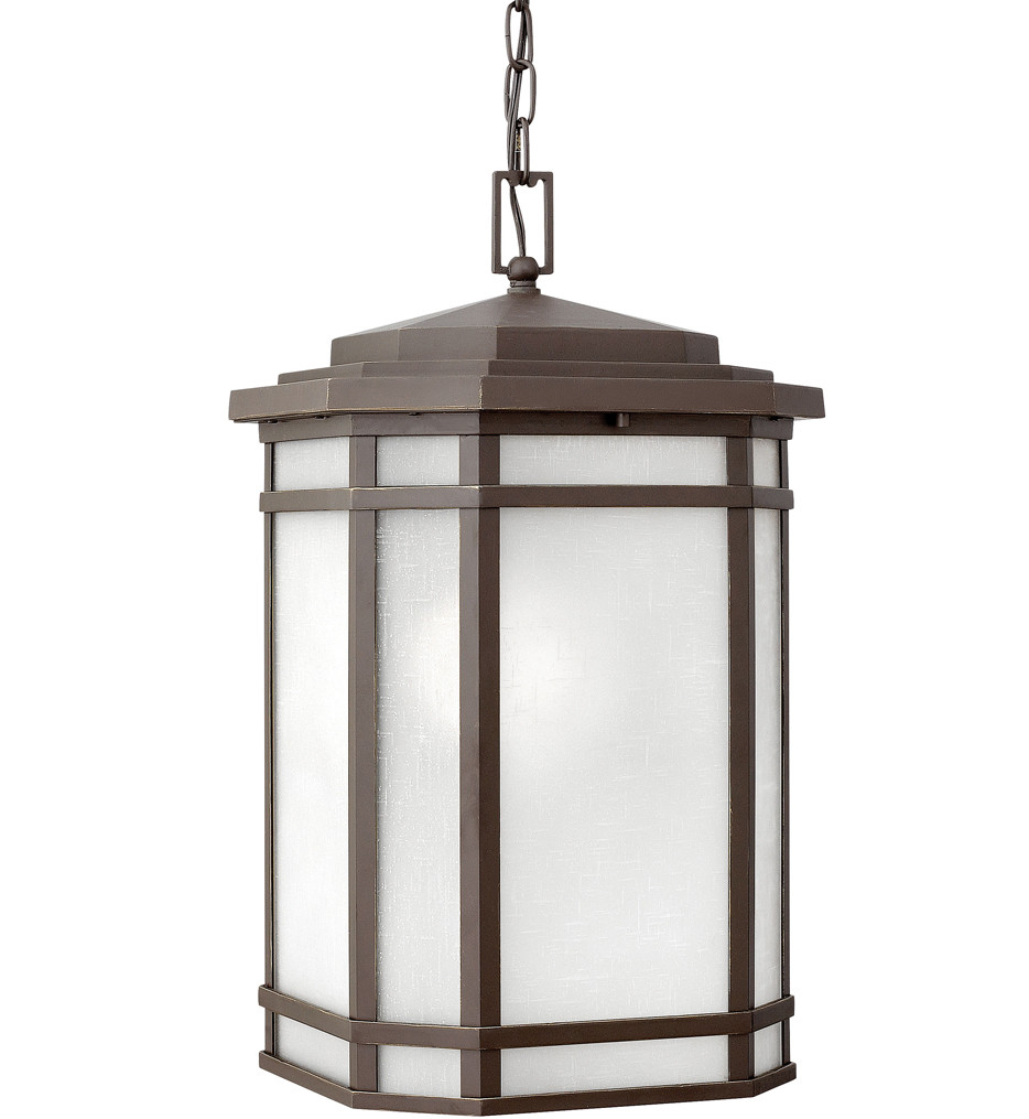 Hinkley Lighting - Cherry Creek Vintage Black Outdoor Pendant