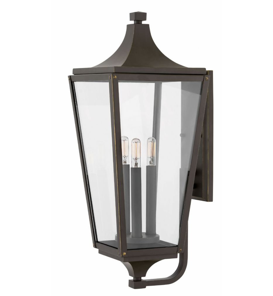 Hinkley Lighting - 1295OZ - Jaymes Oil Rubbed Bronze 24 Inch Outdoor Wall Sconce