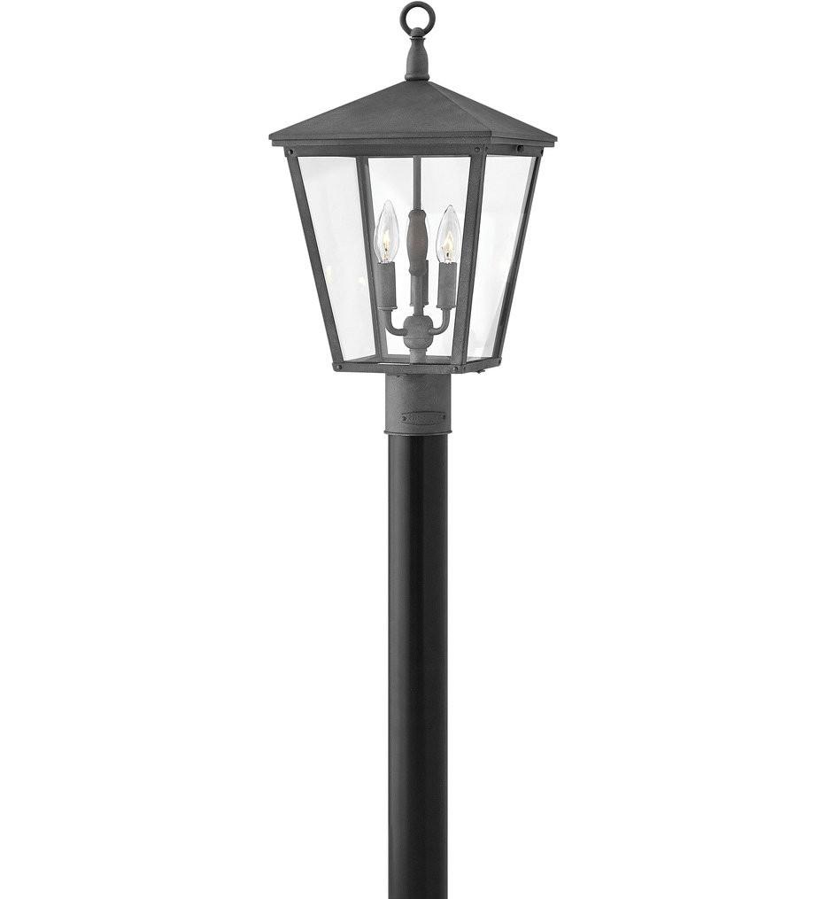 Hinkley Lighting - Trellis Regency Bronze 21 Inch Outdoor Post Mount