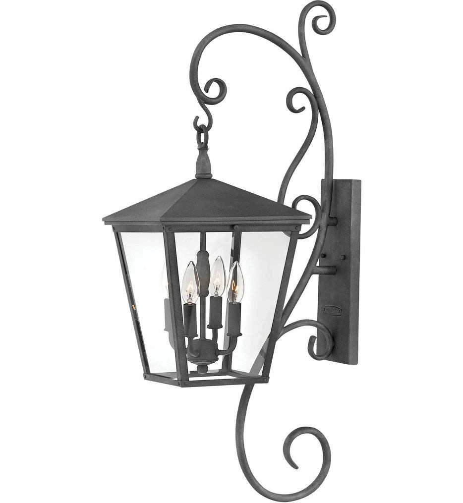 Hinkley Lighting - Trellis Regency Bronze 35.75 Inch Outdoor Wall Sconce