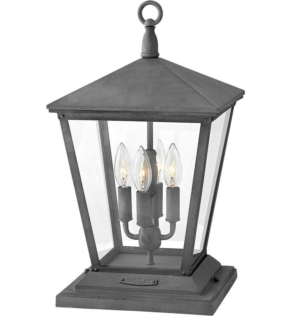 Hinkley Lighting - Trellis Regency Bronze 19.75 Inch Outdoor Pier Mount