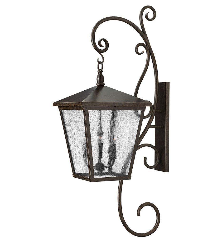 Hinkley Lighting - Trellis Regency Bronze 52 Inch Outdoor Wall Sconce
