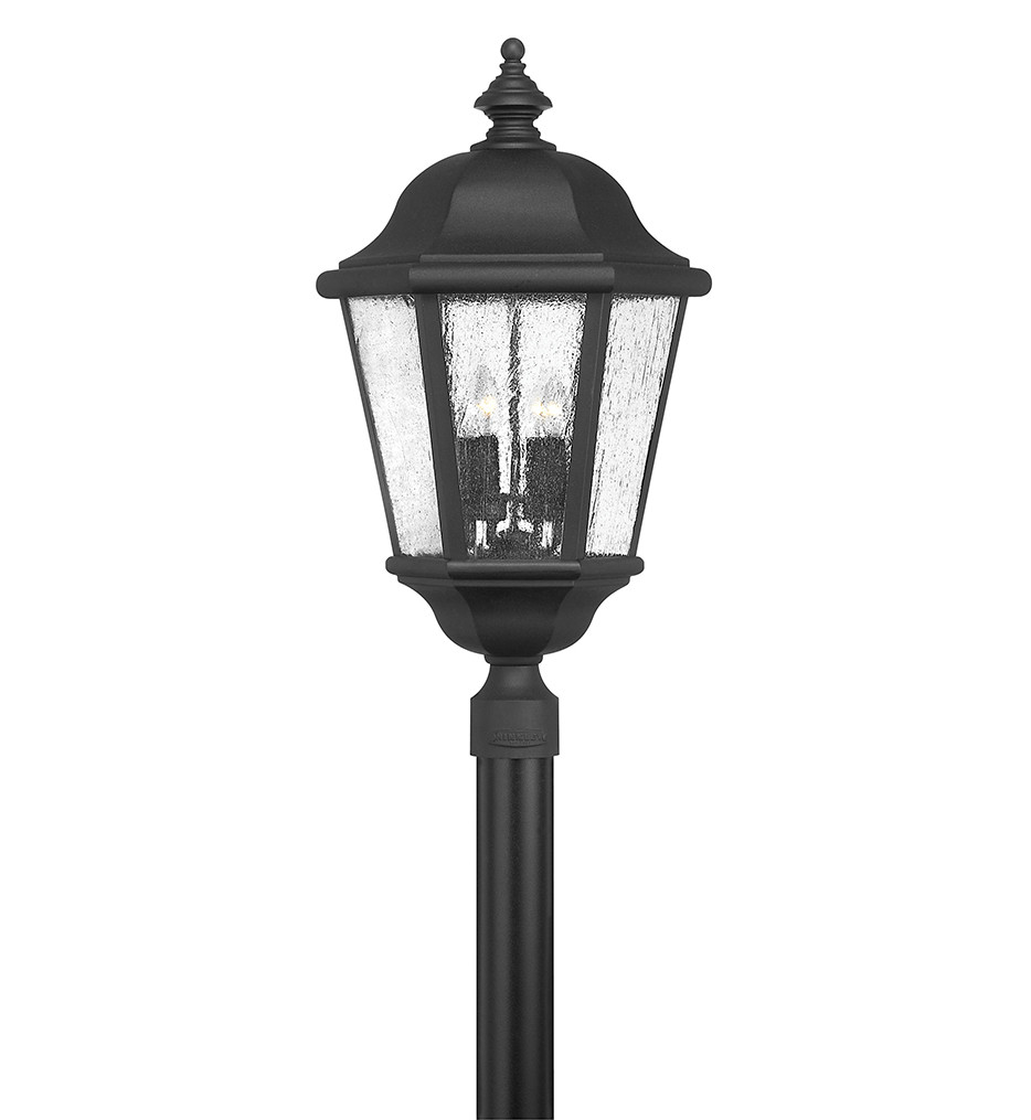 Hinkley Lighting - Edgewater 27.75 Inch Outdoor Post Mount