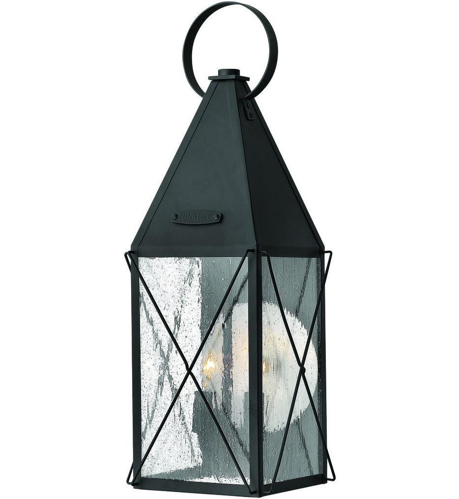 Hinkley Lighting - 1844BK - Black York Outdoor Wall Sconce