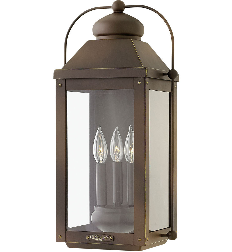 Hinkley Lighting - Anchorage 21.25 Inch Outdoor Wall Sconce