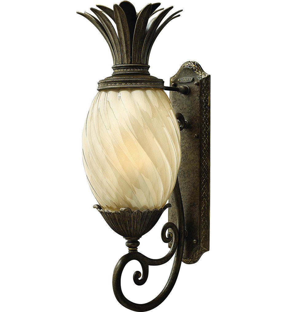 Hinkley Lighting - Plantation Pearl Bronze 28 Inch Outdoor Wall Sconce