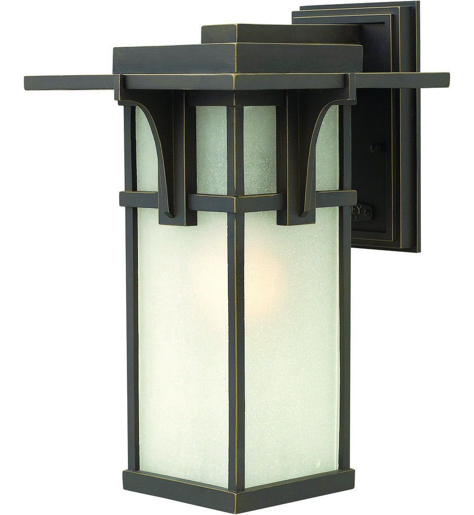 Hinkley Lighting - Manhattan Oil Rubbed Bronze 15 Inch Outdoor Wall Sconce