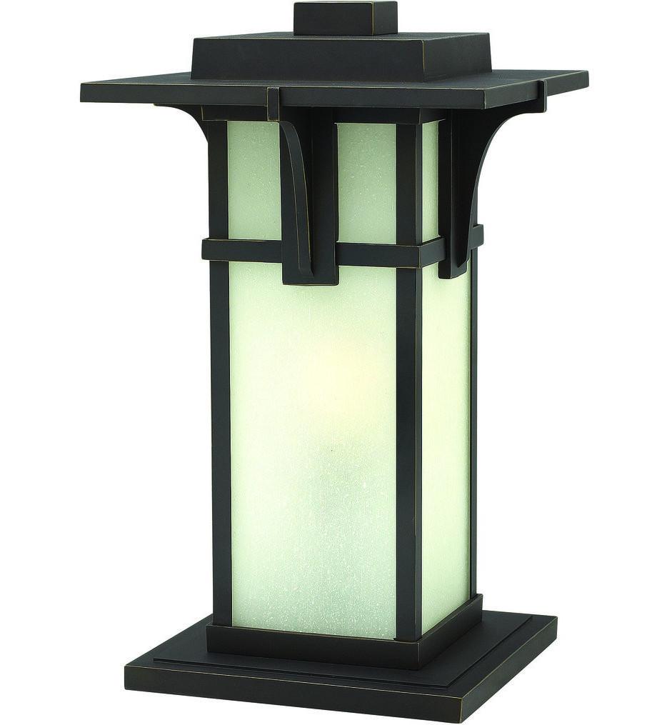 Hinkley Lighting - Manhattan Oil Rubbed Bronze Post Light
