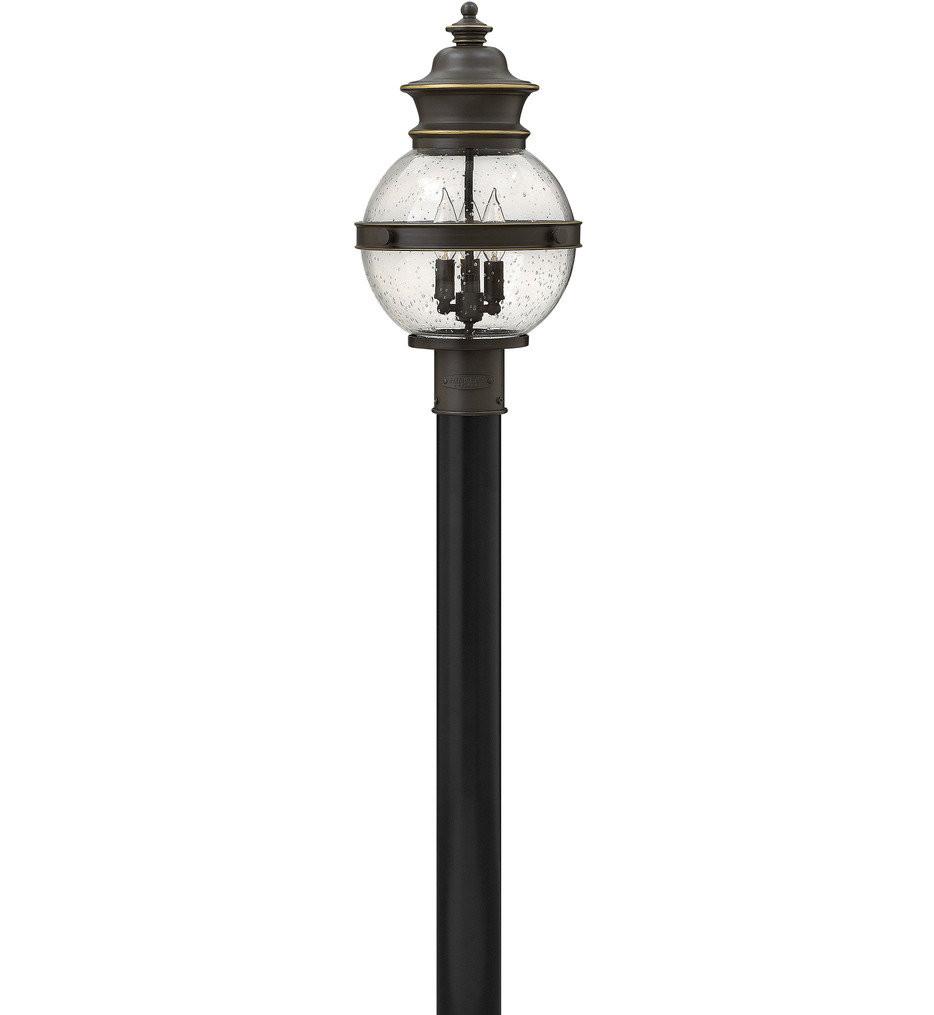 Hinkley Lighting - 2341OZ - Saybrook Oil Rubbed Bronze Outdoor Post Mount
