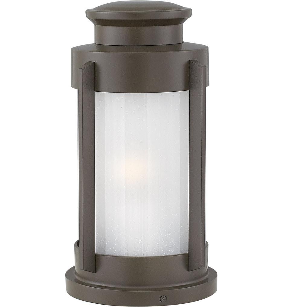 Hinkley Lighting - 2497KZ - Briggs Buckeye Bronze Outdoor Pier Mount