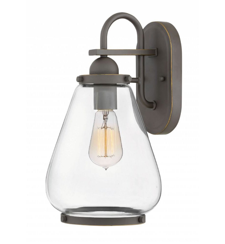 Hinkley Lighting - Finley 14.75 Inch Outdoor Wall Sconce