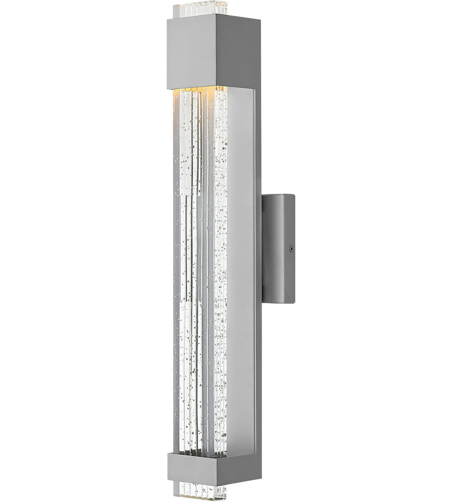 Hinkley Lighting - Glacier 22 Inch Outdoor Wall Sconce