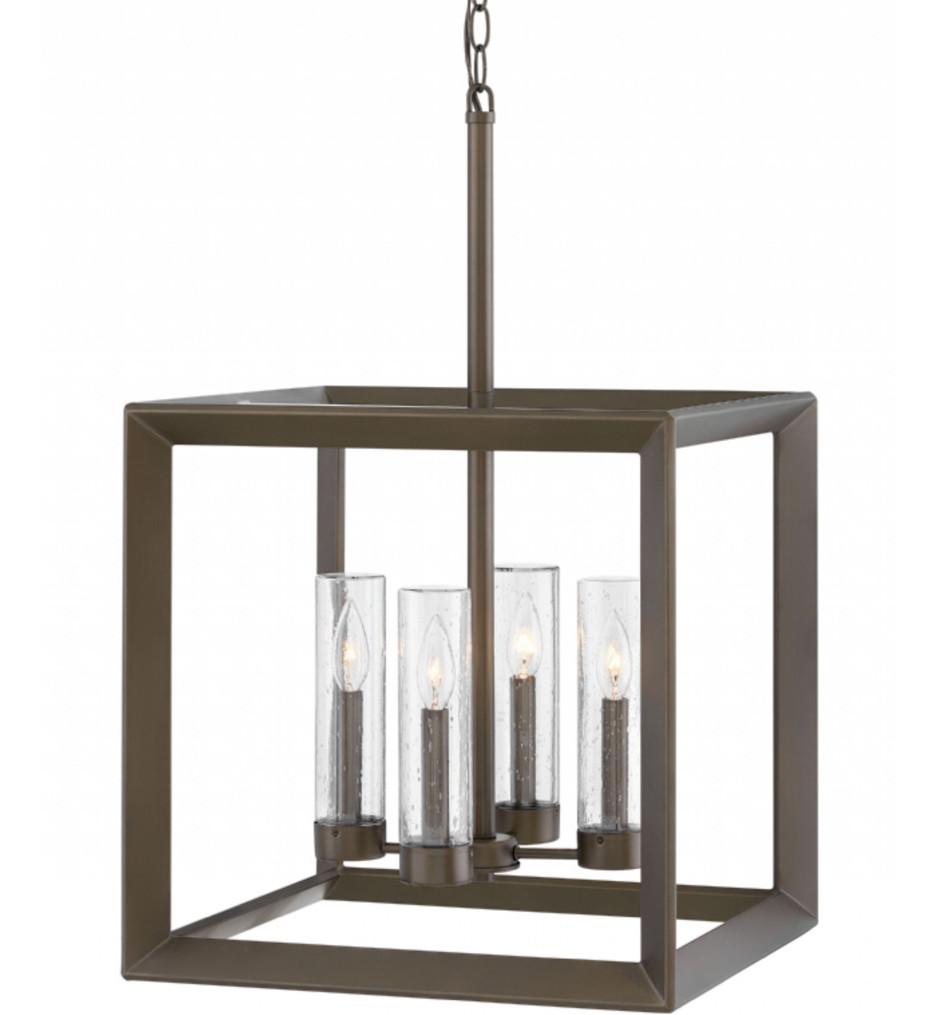 Hinkley Lighting - 29304WB - Rhodes Warm Bronze Outdoor Chandelier