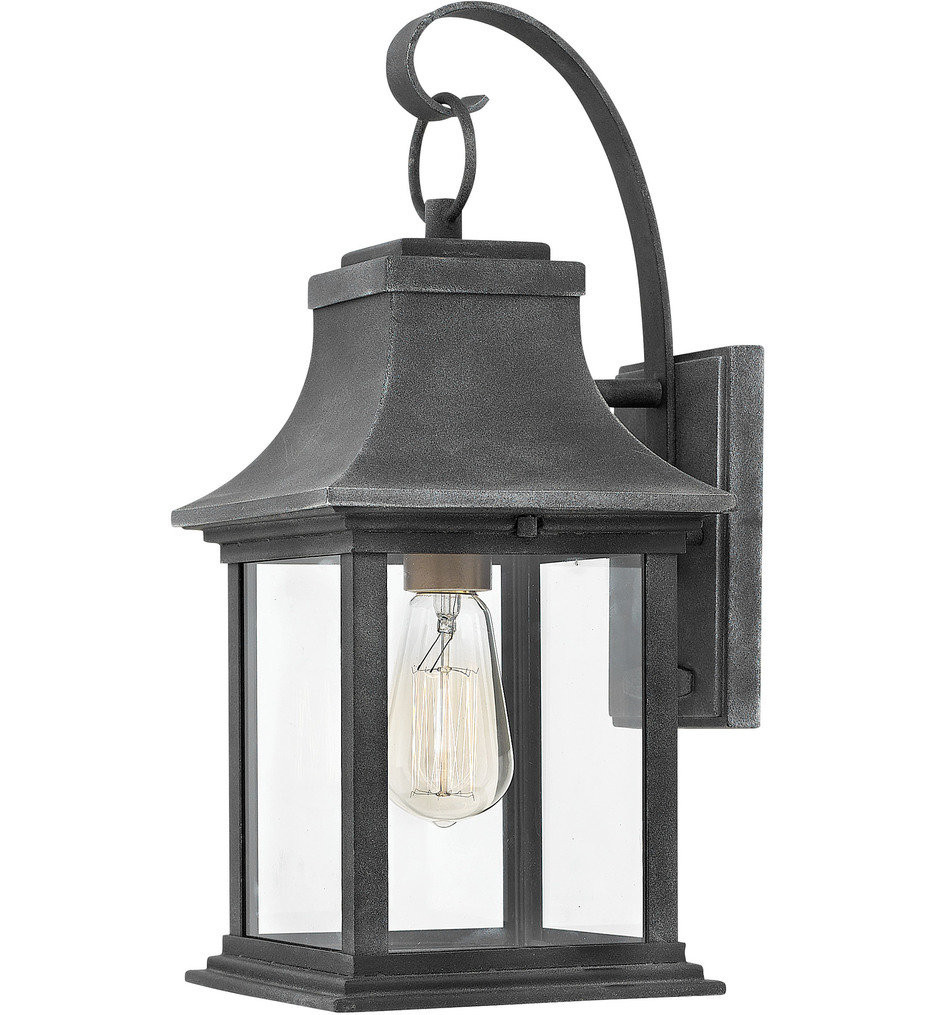 Hinkley Lighting - 2930DZ - Adair Aged Zinc 16.5 Inch Outdoor Wall Sconce