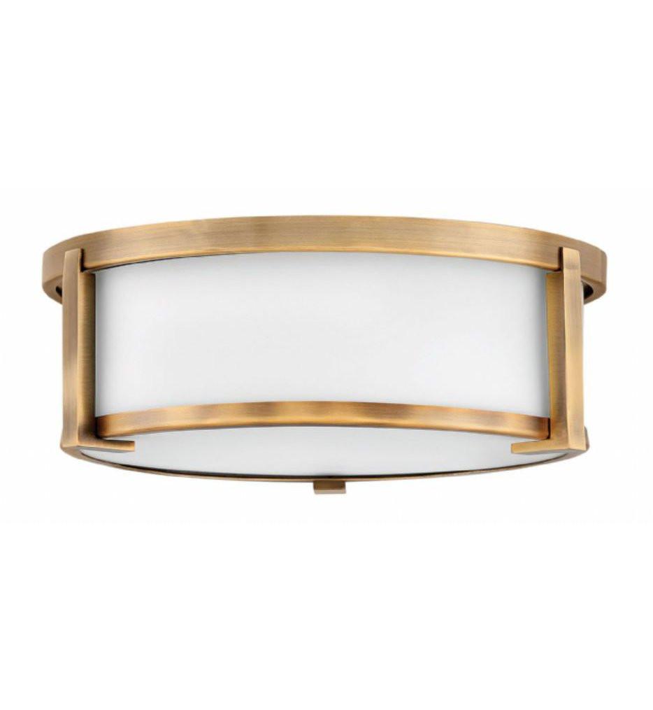 Hinkley Lighting - Lowell 13.25 Inch Flush Mount