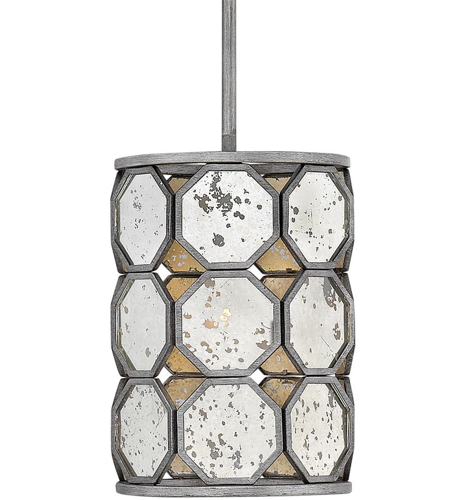 Hinkley Lighting - 3567BV - Lara Brushed Silver Pendant