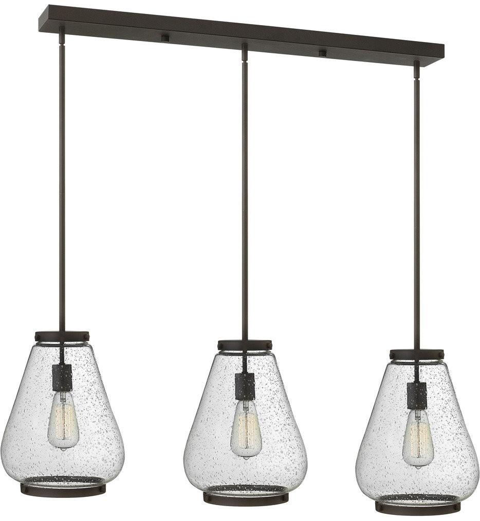 Hinkley Lighting - Finley 40 Inch 3 Light Pendant