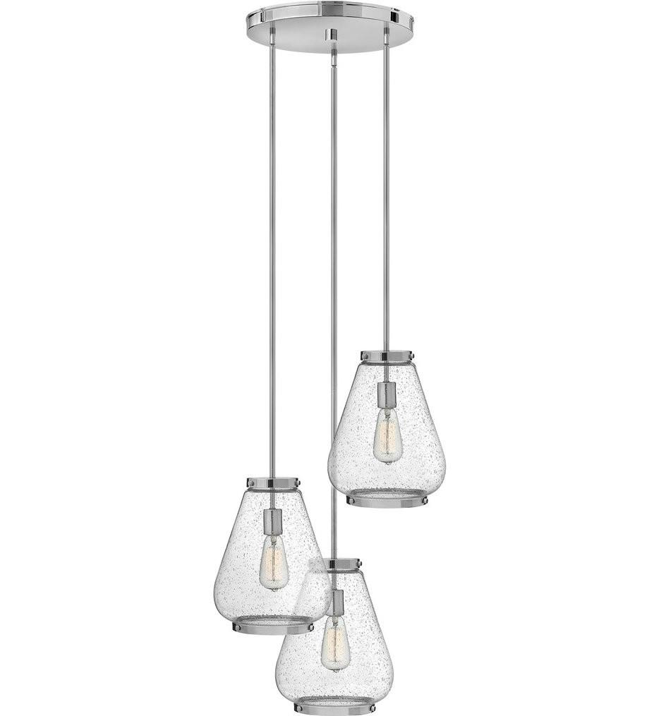 Hinkley Lighting - Finley 21 Inch 3 Light Pendant