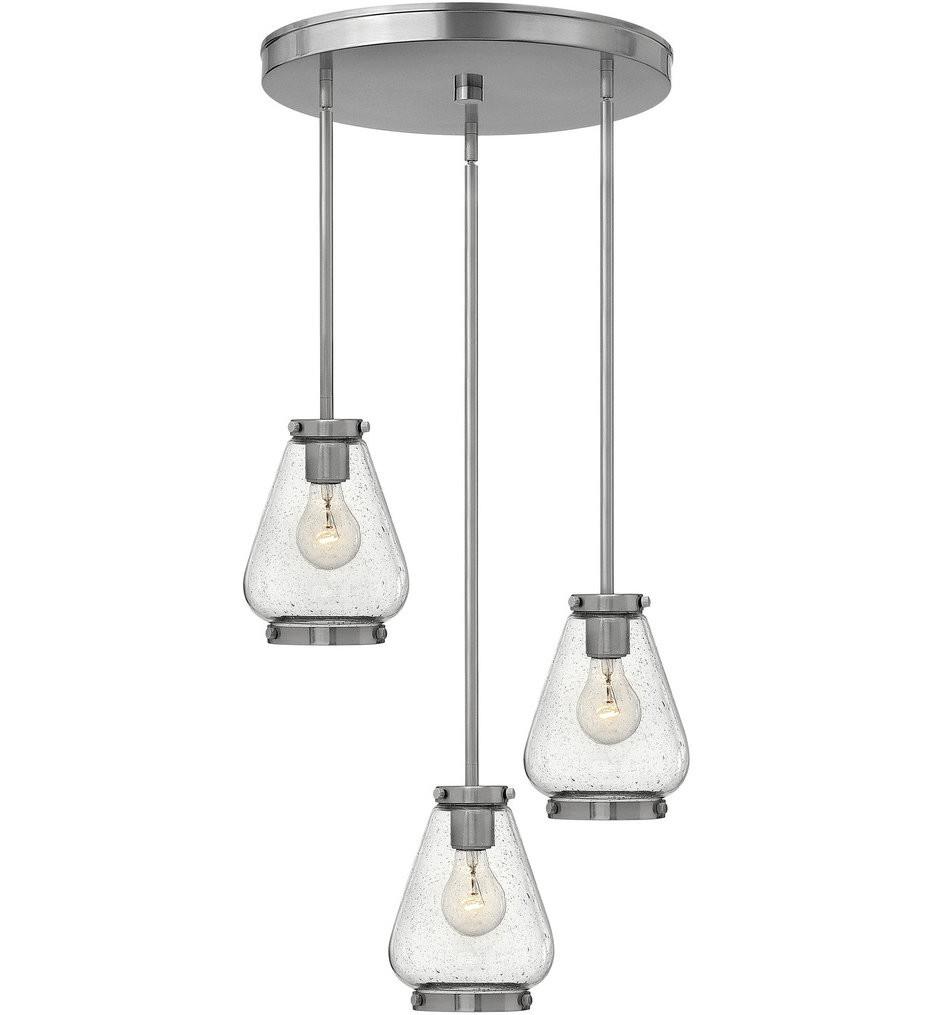 Hinkley Lighting - Finley 17 Inch 3 Light Pendant