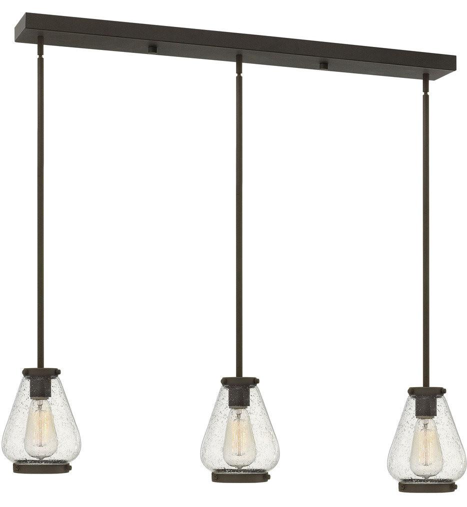 Hinkley Lighting - Finley 36 Inch 3 Light Pendant
