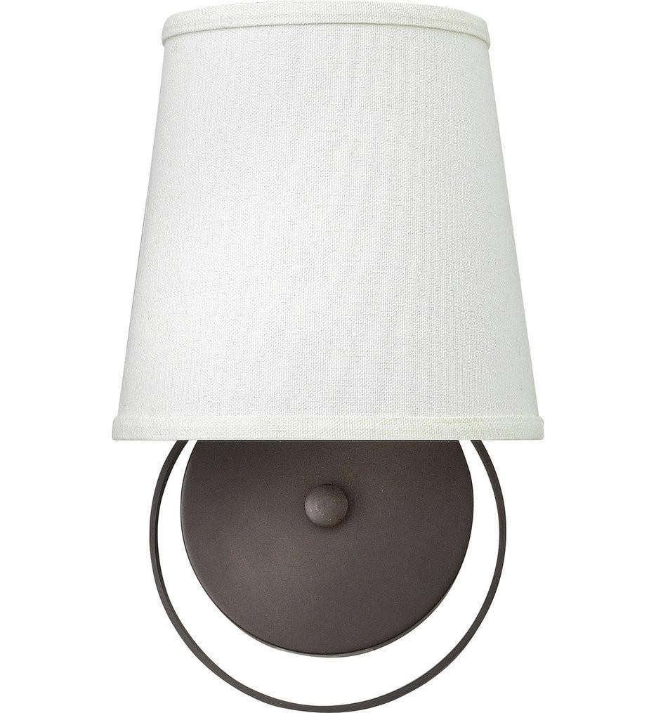 Hinkley Lighting - 3700KZ - Harrison Buckeye Bronze Wall Sconce