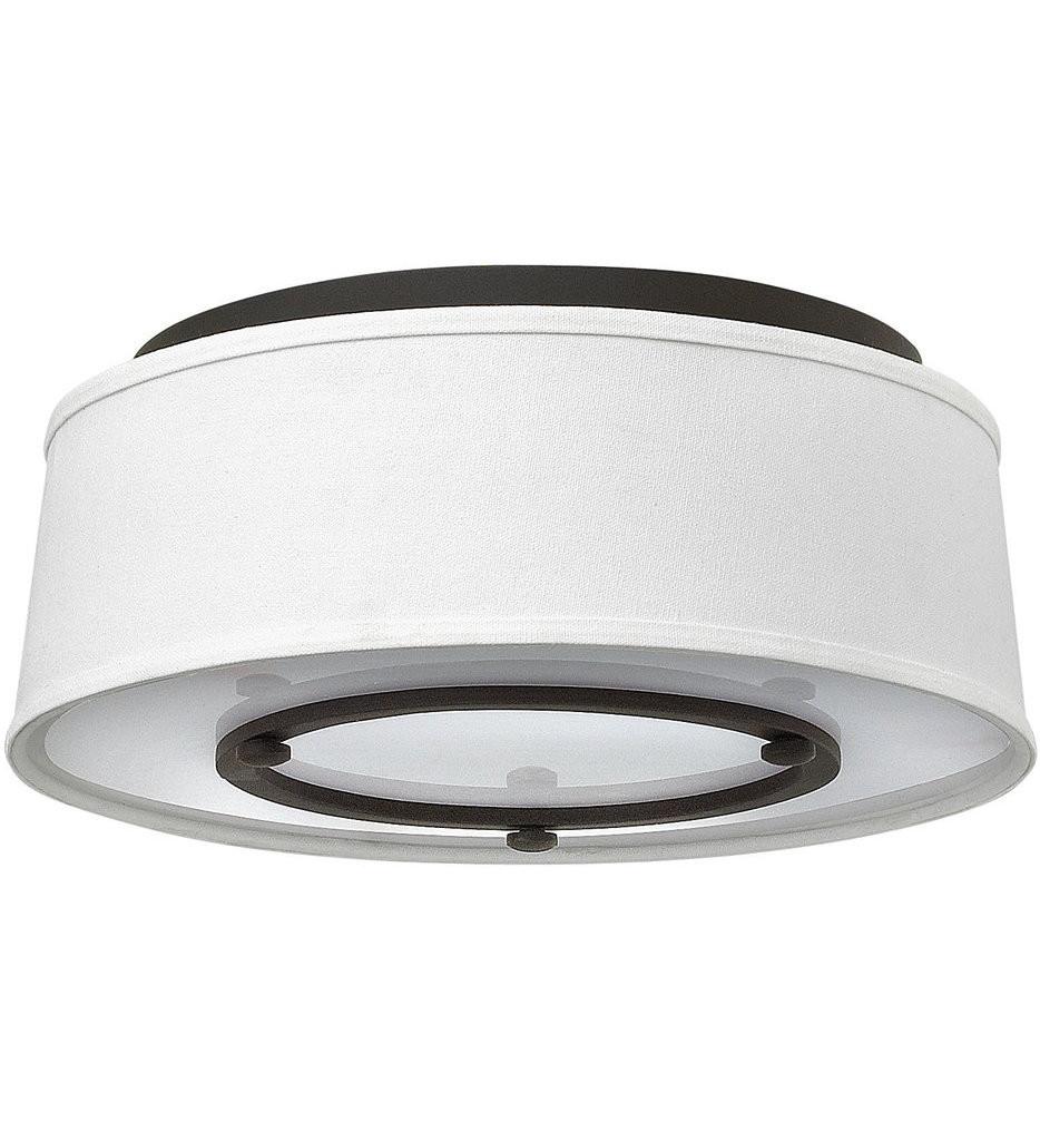 Hinkley Lighting - 3701KZ - Harrison Buckeye Bronze Flush Mount