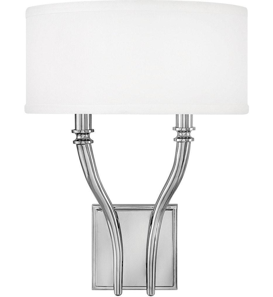 Hinkley Lighting - Surrey 2 Light Wall Sconce