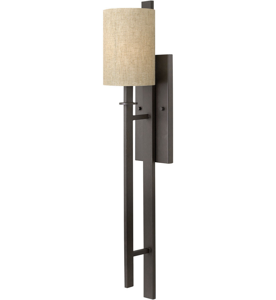 Hinkley Lighting - 4549RB - Sloan Regency Bronze 1 Light Wall Sconce