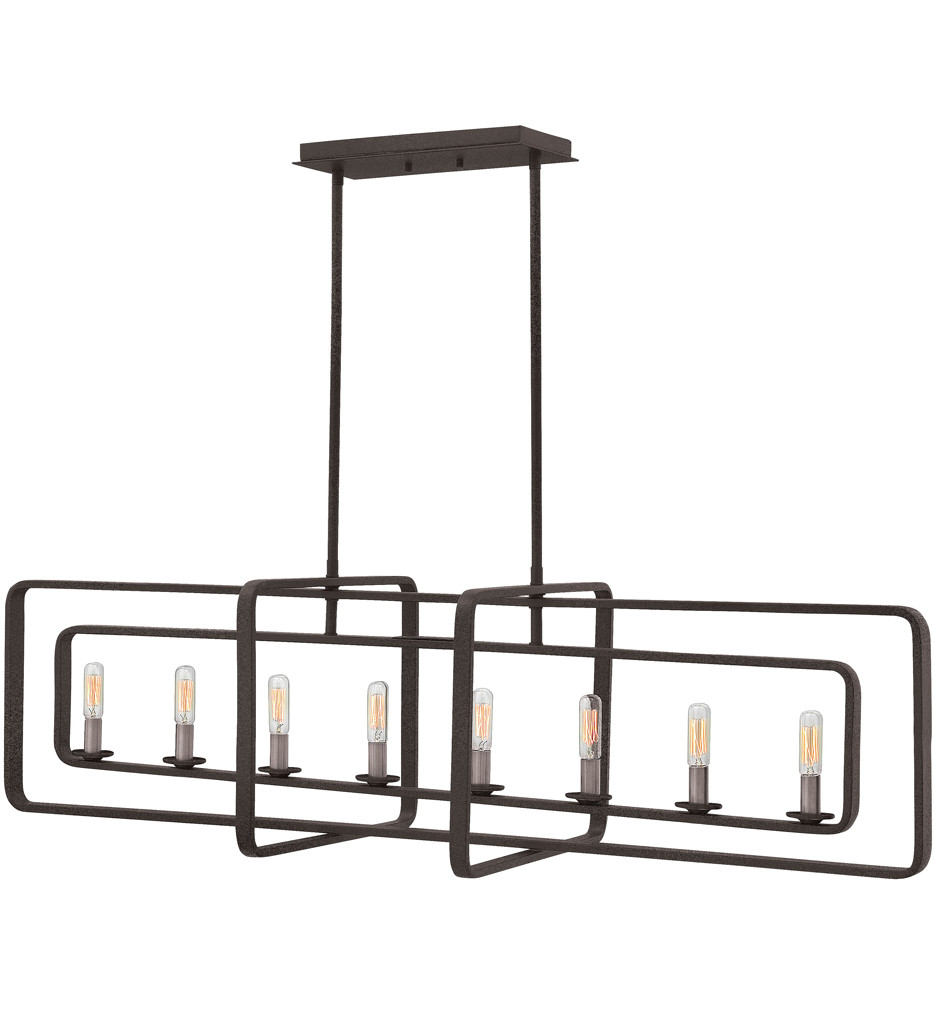 Hinkley Lighting - Quentin 45 Inch Linear Chandelier