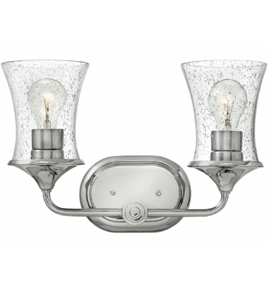 Hinkley Lighting - Thistledown 2 Light Bath Vanity Light