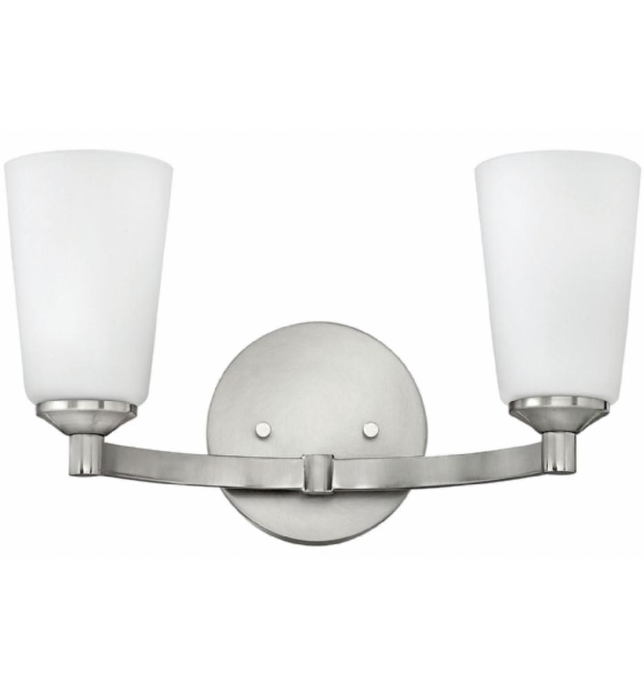 Hinkley Lighting - 52232BN - Sadie Brushed Nickel 2 Light Bath Vanity Light