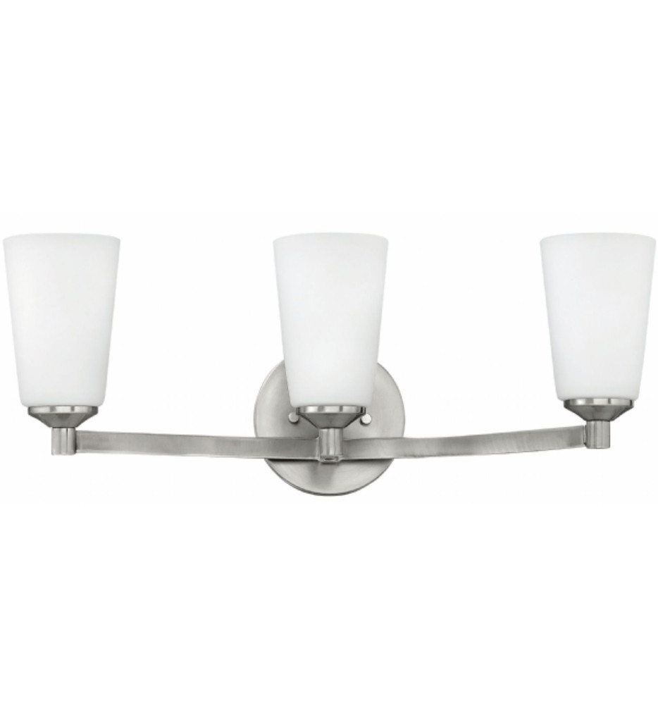 Hinkley Lighting - 52233BN - Sadie Brushed Nickel 3 Light Bath Vanity Light