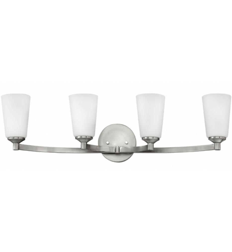 Hinkley Lighting - 52234BN - Sadie Brushed Nickel 4 Light Bath Vanity Light