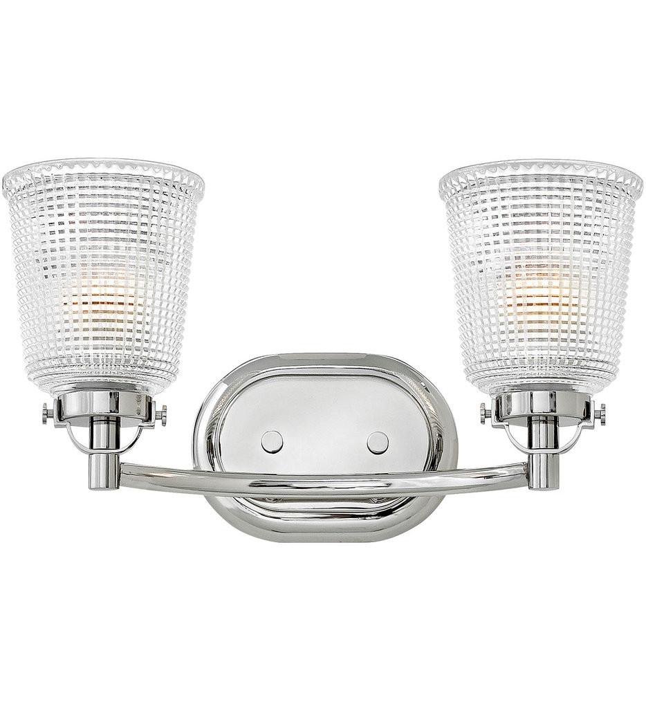 Hinkley Lighting - Bennett 2 Light Bath Vanity Light