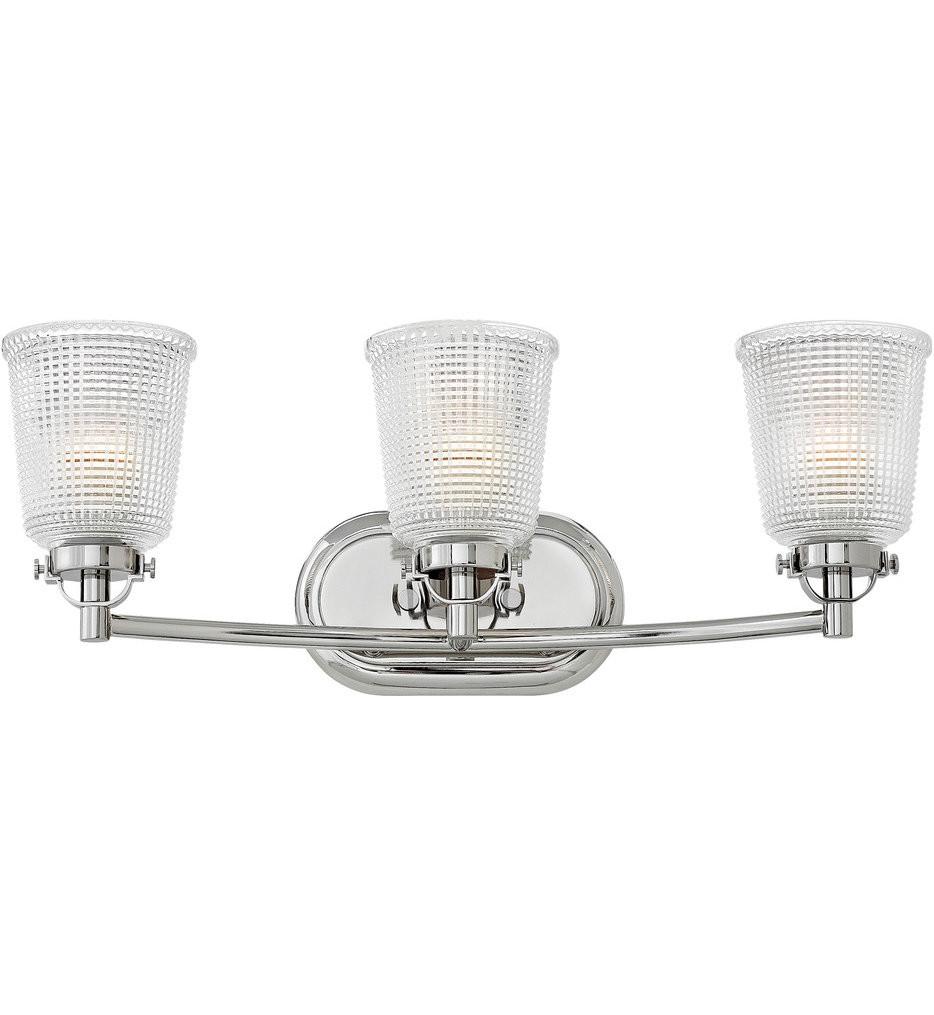 Hinkley Lighting - Bennett 3 Light Bath Vanity Light