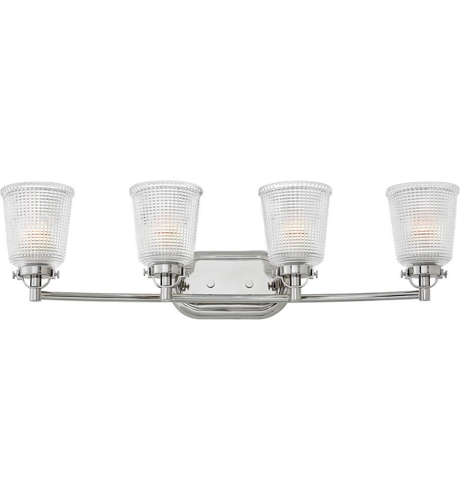 Hinkley Lighting - Bennett 4 Light Bath Vanity Light