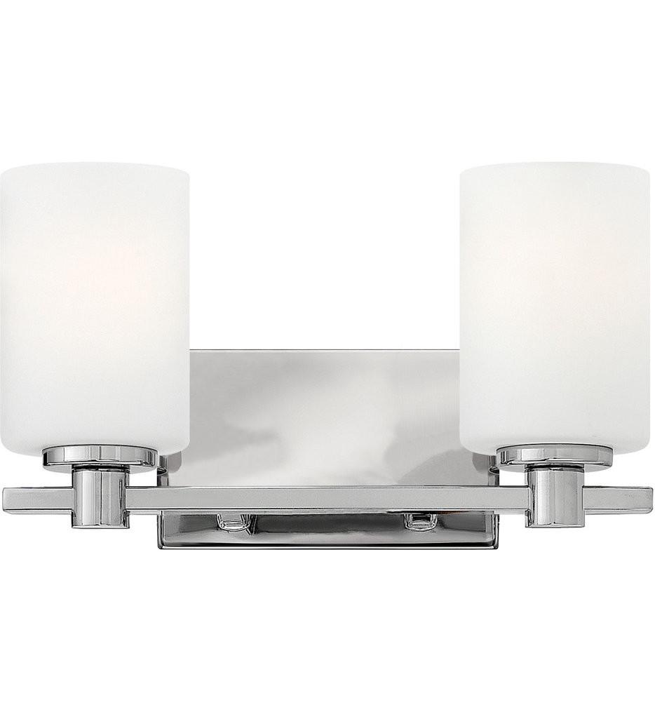 Hinkley Lighting - Karlie 2 Light Bath Vanity Light