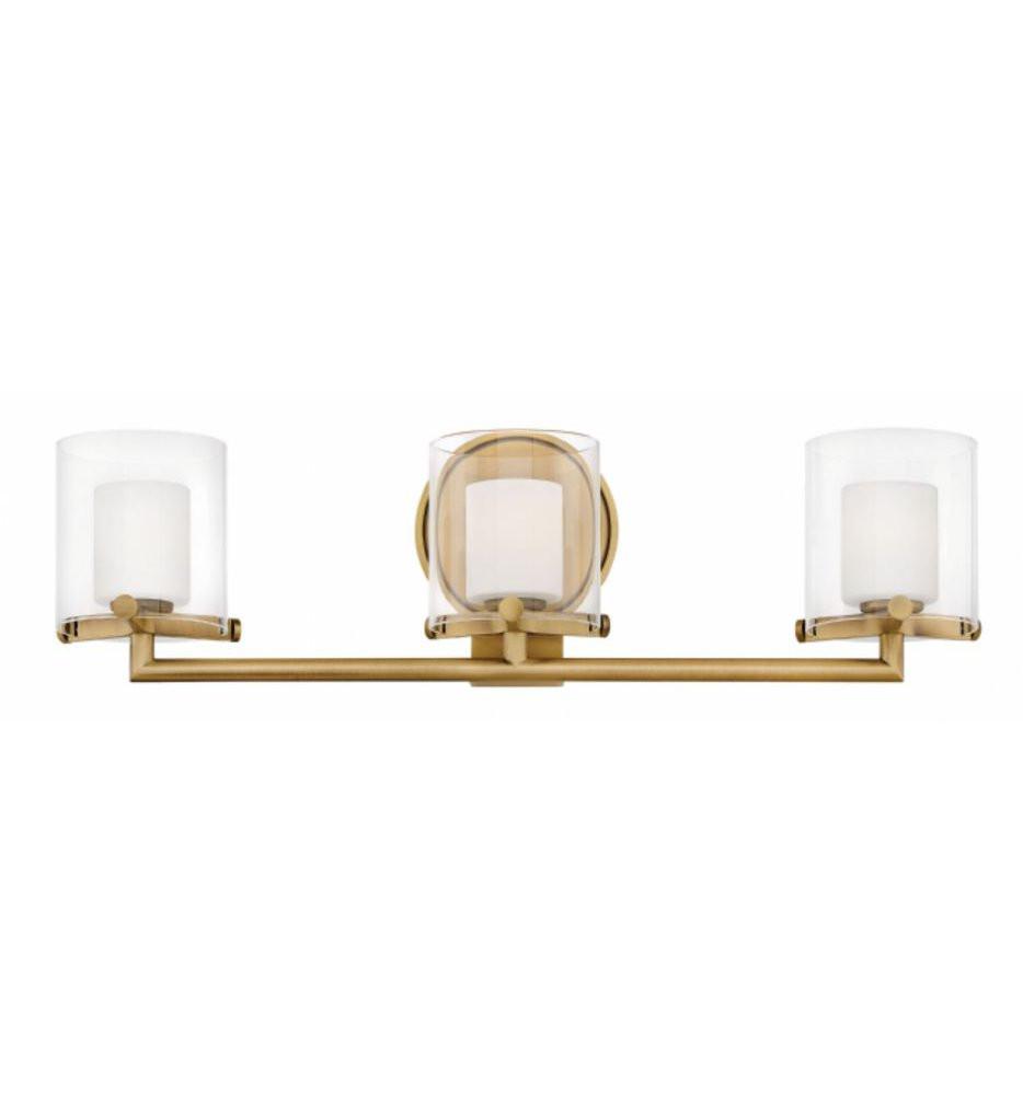 Hinkley Lighting - Rixon 3 Light Bath Vanity Light