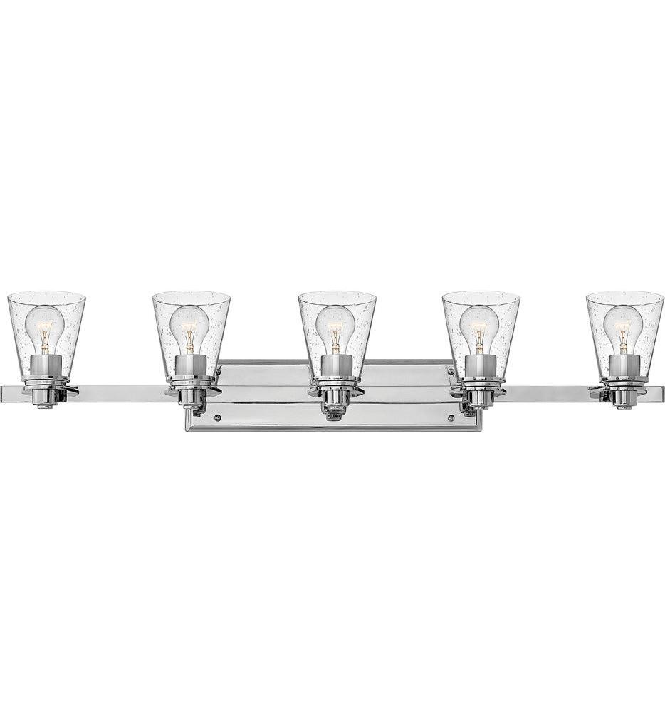 Hinkley Lighting - Avon 5 Light Bath Vanity Light