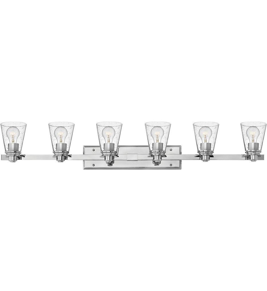 Hinkley Lighting - Avon 6 Light Bath Vanity Light