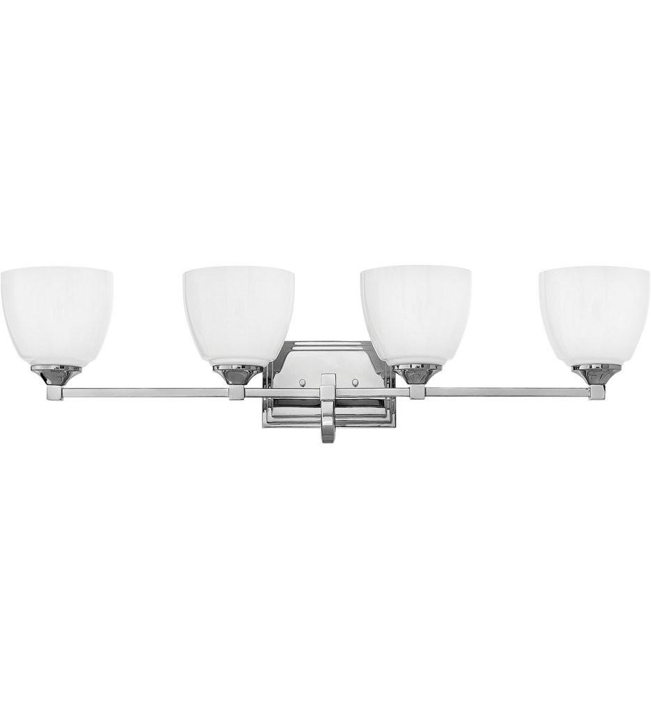 Hinkley Lighting - 5604CM - Faye Chrome 4 Light Bath Vanity Light