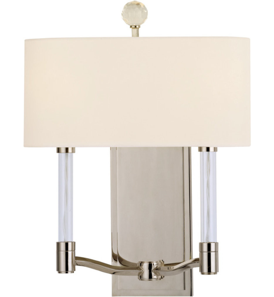 Hudson Valley - 3002-PN - Waterloo Polished Nickel 2 Light Wall Sconce